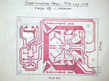 PCB Stereo Loudness with IC