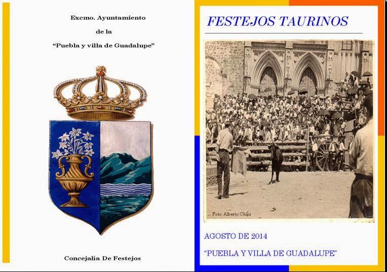 FESTEJOS TAURINOS EN GUADALUPE