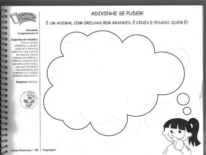 Top ESPAÇO EDUCAR: Atividades para Educação infantil em Ciências  WD93