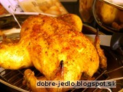 Vianočné super kurča - recept