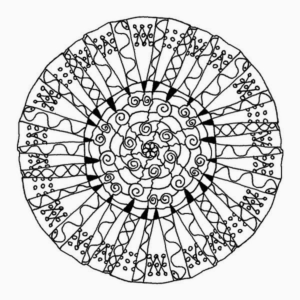 witch mandala coloring pages - photo#30