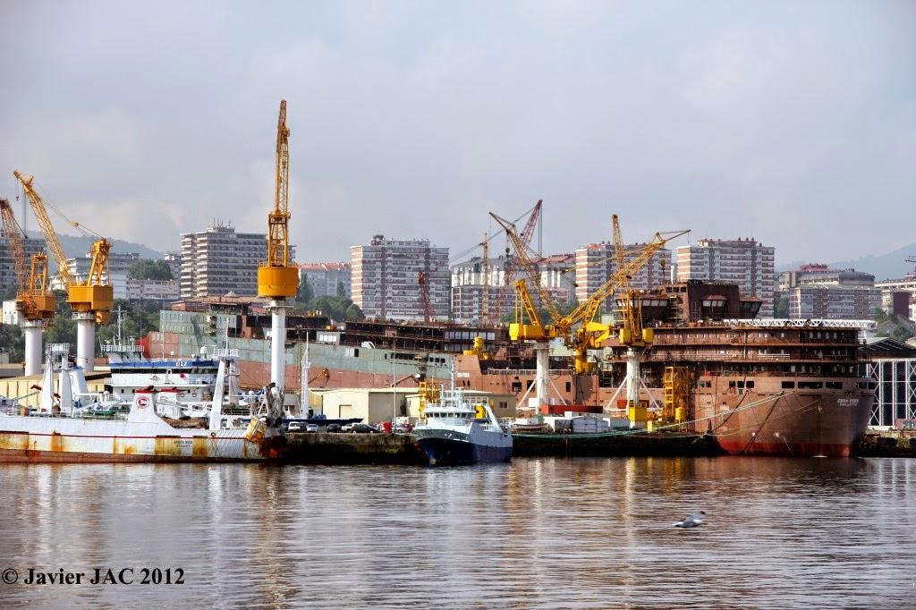 Industria naval espa ola estos son los principales for Empresas de construccion en vigo