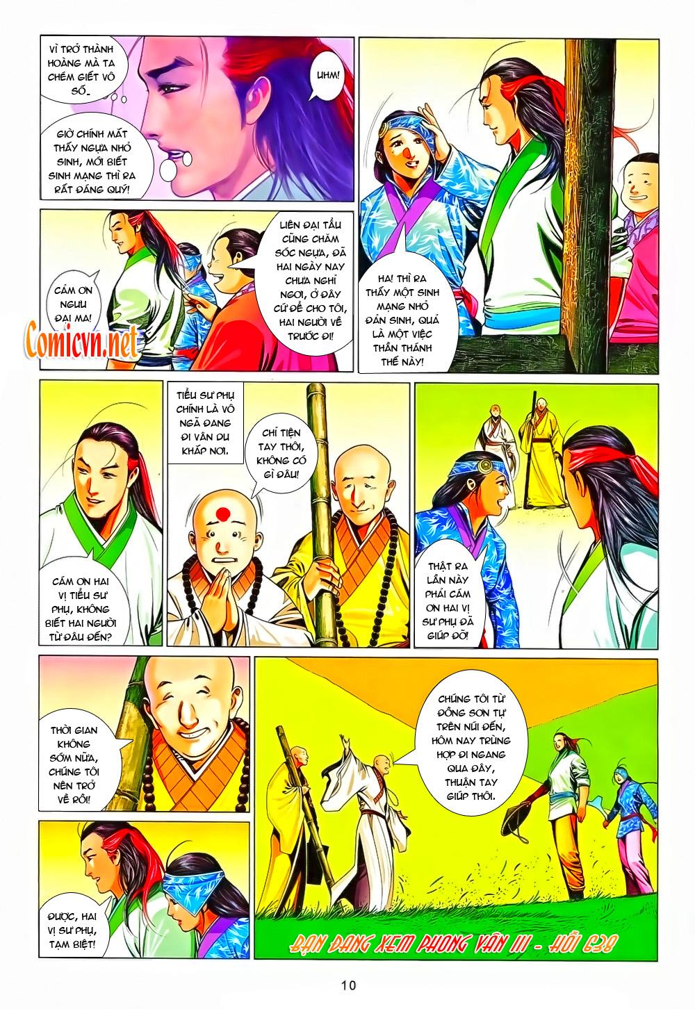 Phong Vân chap 638 Trang 8 - Mangak.info