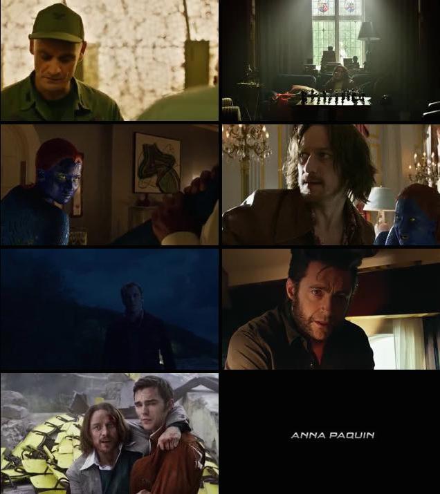 X-Men Days of Future Past 2014 Dual Audio Hindi BRRip 480p