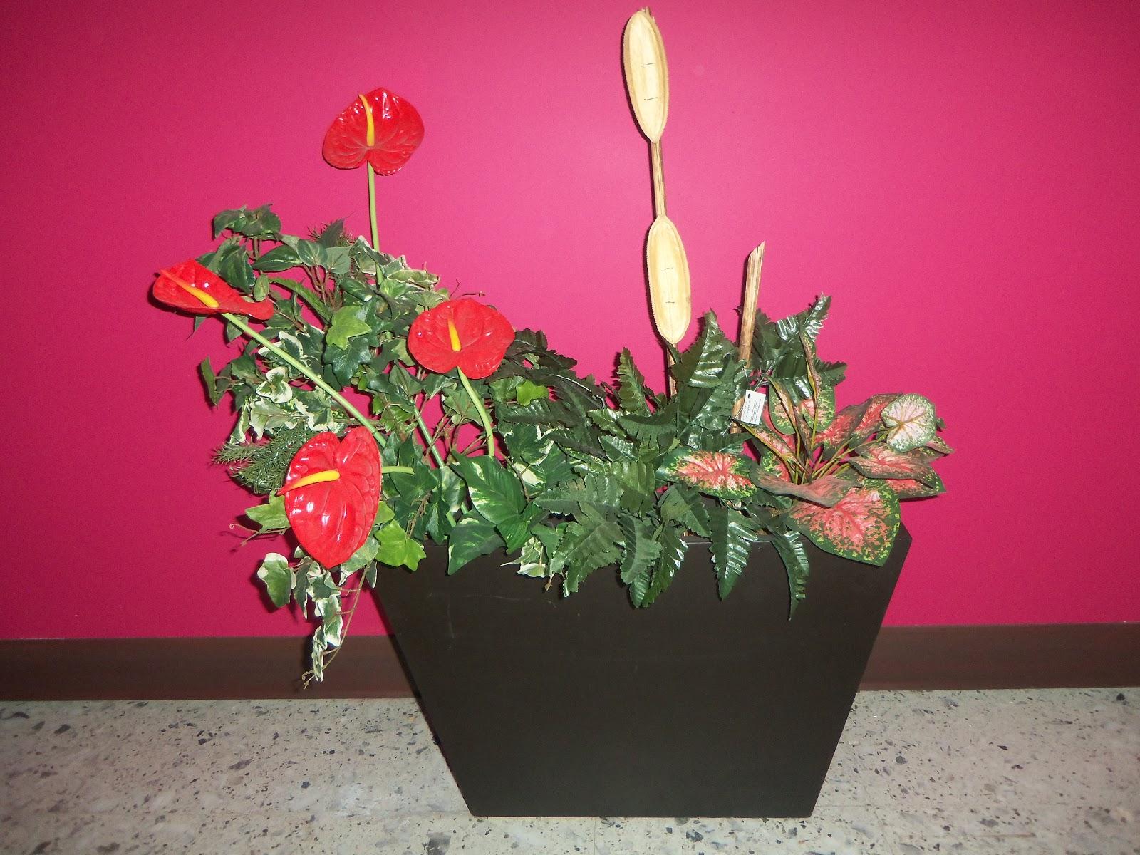 Flores e interiores jardineras para interior for Jardineras para interiores