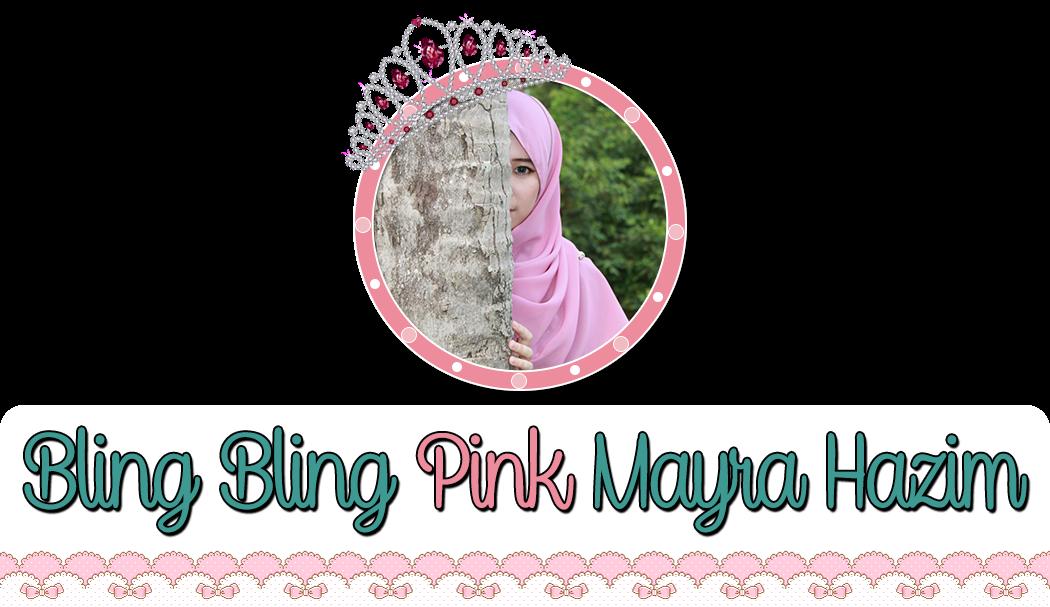 Bling Bling Pink Mayra Hazim
