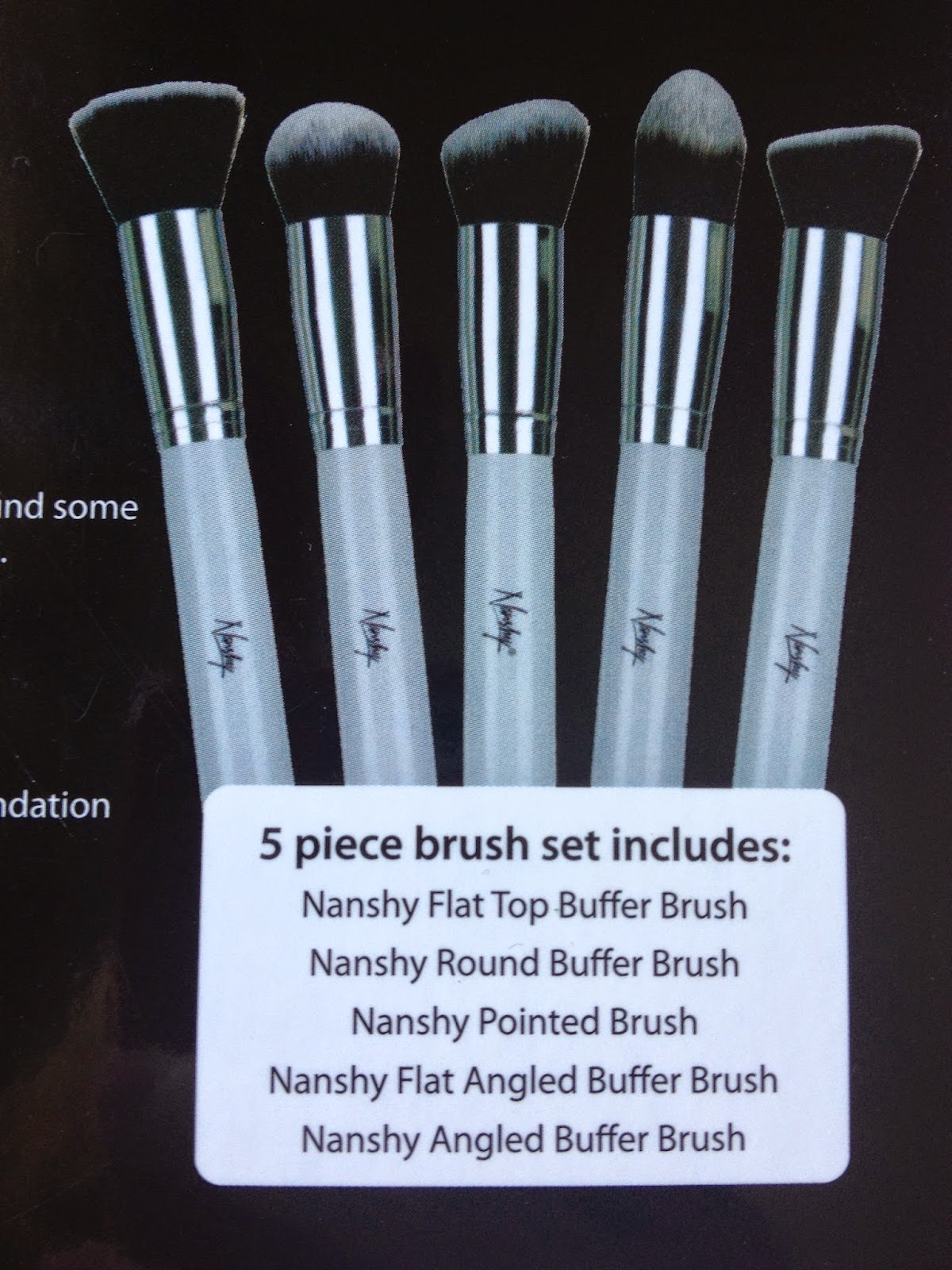 Nanshy foundation brushes review on Fashion and Cookies
