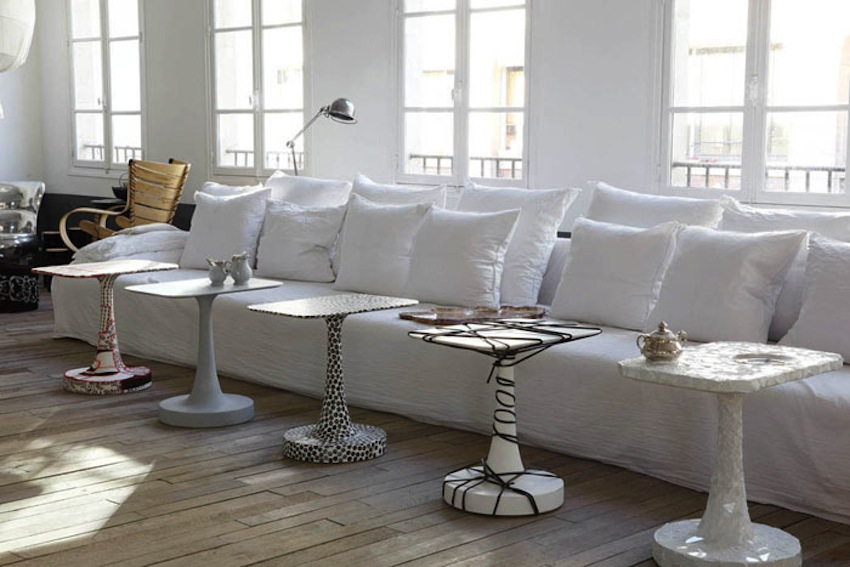 clothespeggs paola navone 39 s home in paris. Black Bedroom Furniture Sets. Home Design Ideas