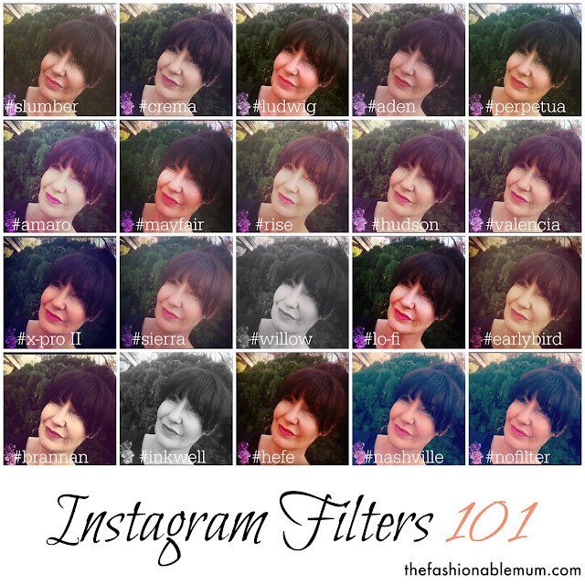 Instagram Filters of The fashionable mum