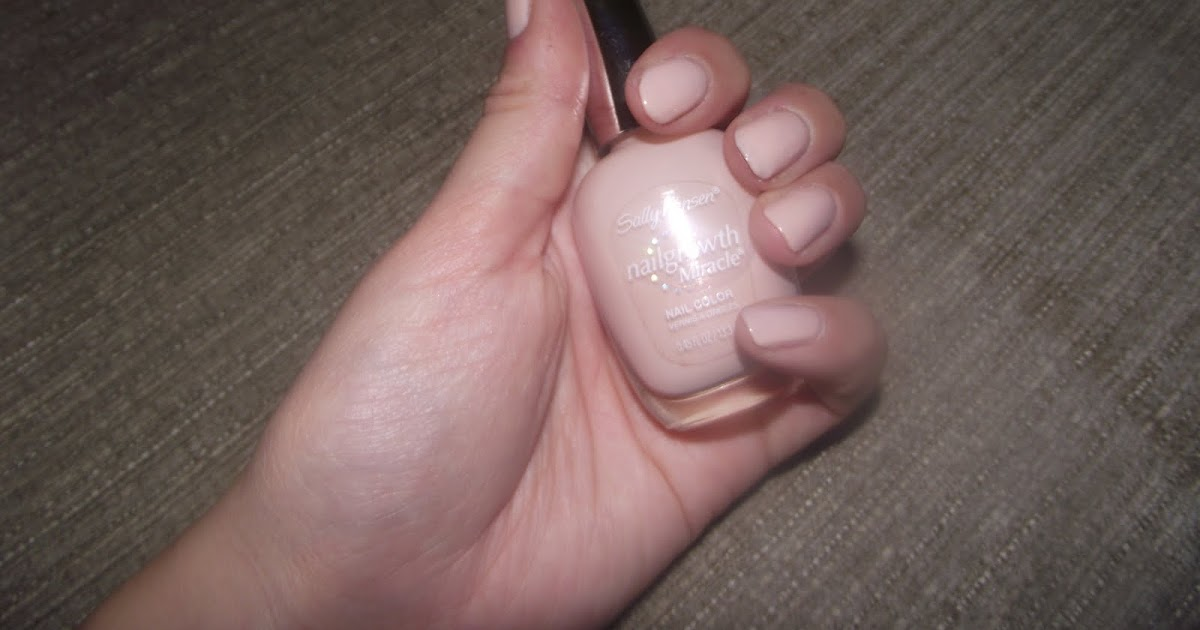 HauteFuture: Review - Sally Hansen Nail Growth Miracle in Bold Buff
