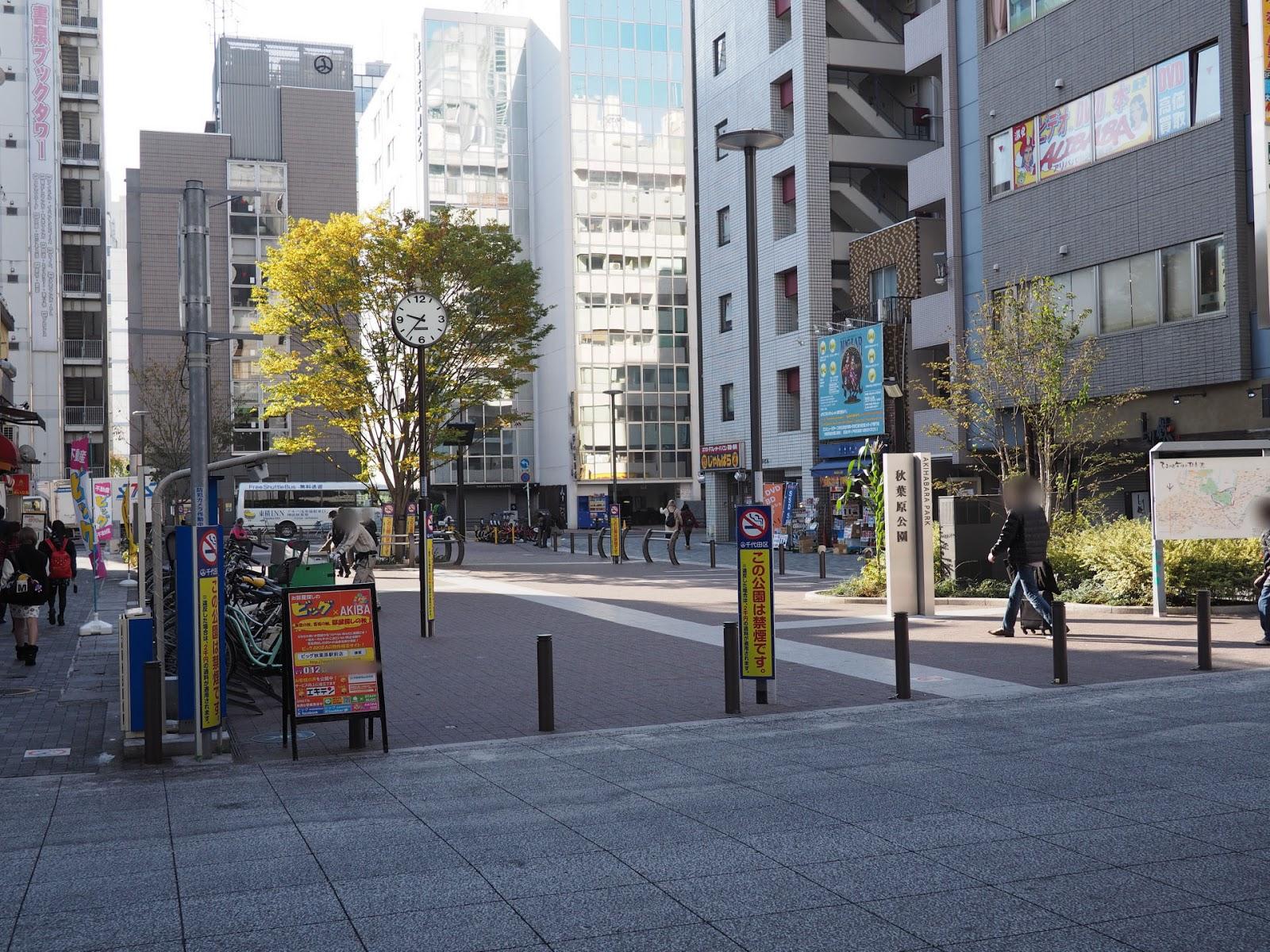 2014年11月23日 秋葉原公園