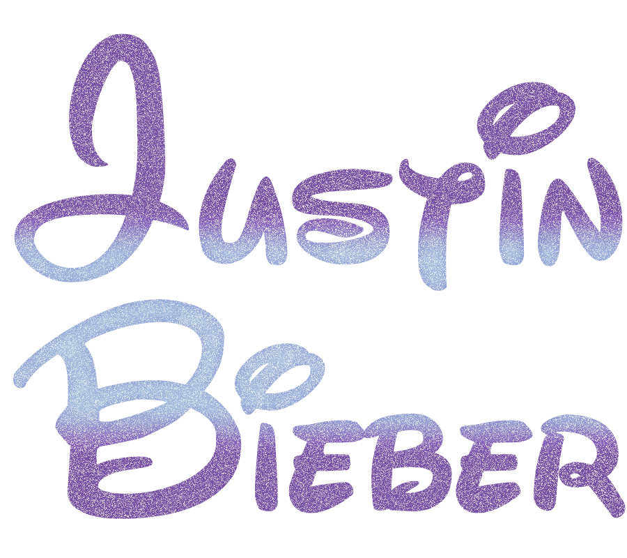 justin bieber name logo wwwimgkidcom the image kid
