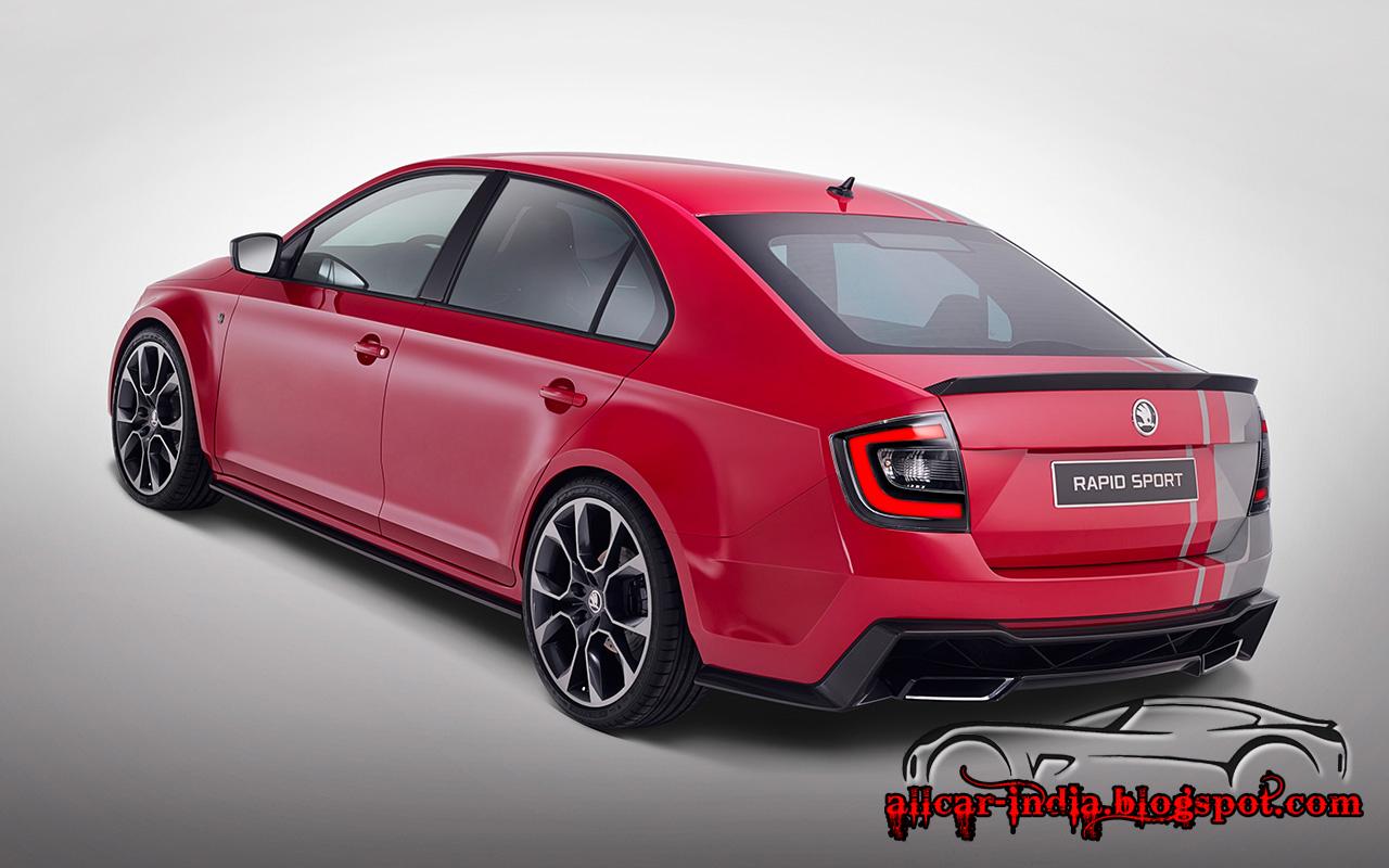 automotive craze 2013 skoda rapid sport coming soon. Black Bedroom Furniture Sets. Home Design Ideas