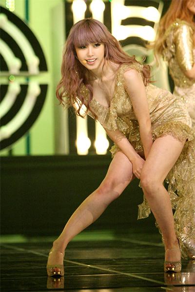 Hyosung, Zinger, Ji Eun o Sunhwa ¿Quien tiene las mejores piernas? Secret_hyosung