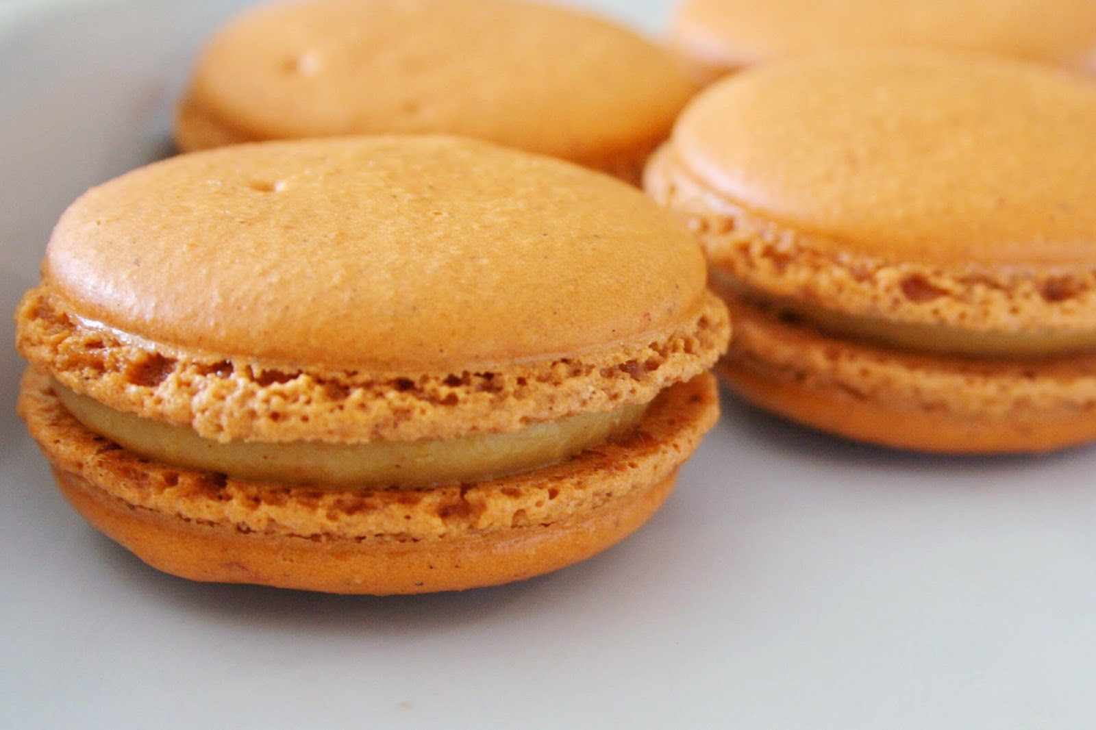 black tie and flip flops: Pumpkin Spice French Macarons at ...