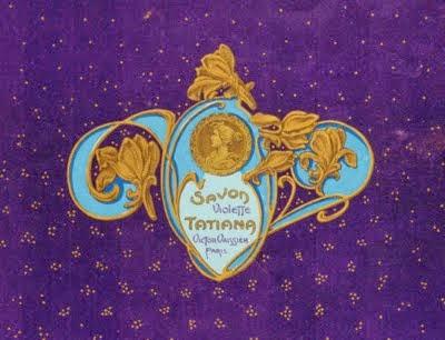 Savon violette Tatiana