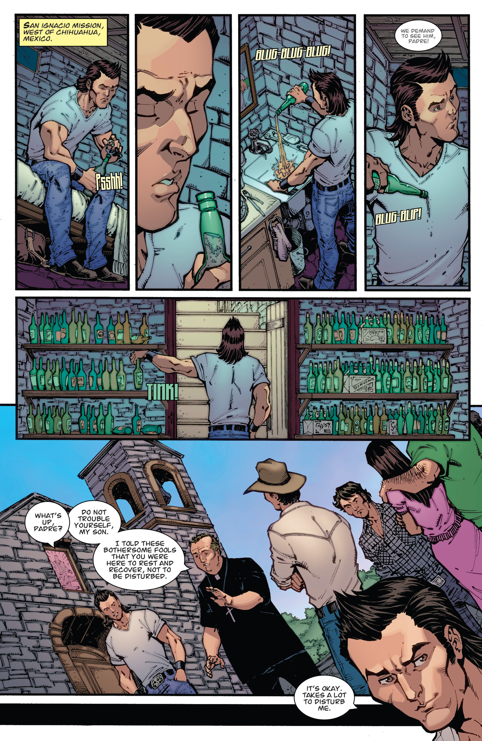 Read online Guarding the Globe (2012) comic -  Issue #2 - 10