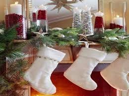 Decoración Tradicional Navideña, Medias Blancas