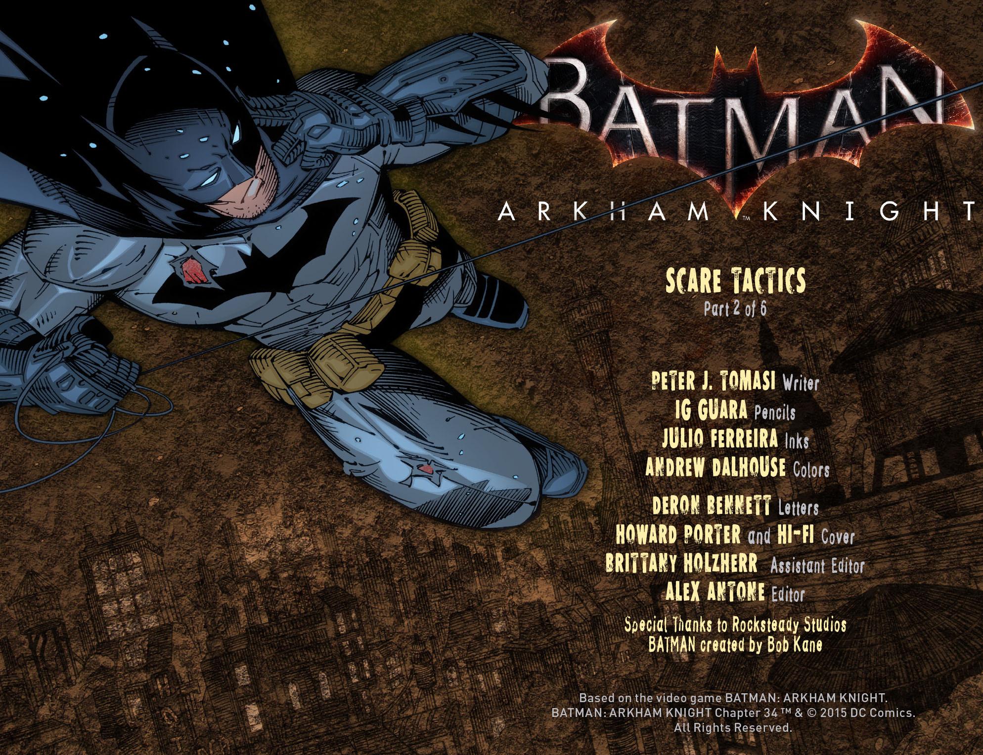 Batman: Arkham Knight [I] Issue #34 #36 - English 2