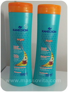 Shampoo Argan com Queratina
