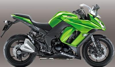 Harga Motor Kawasaki Ninja terbaru 2015
