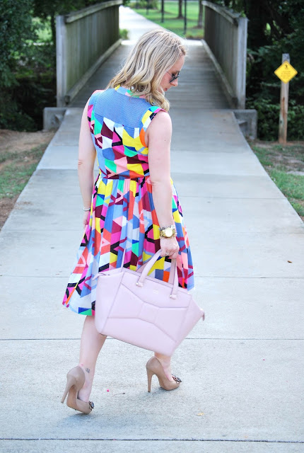 summer dress, cotton dress, Tracy Reese dress