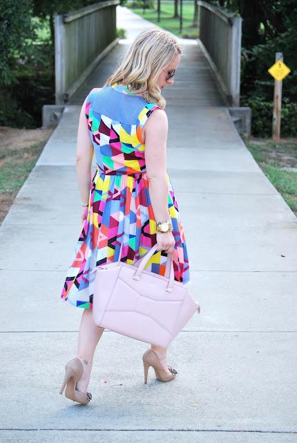 summer dress, cotton dress, Tracy Reese dress