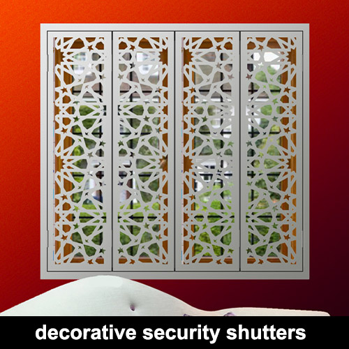 Decorative window shutters