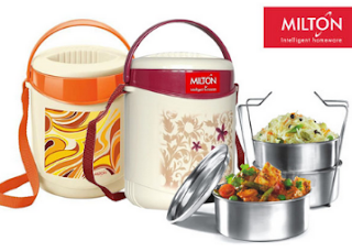 Groupon : Buy Milton Econa Tiffin at Rs.391 only