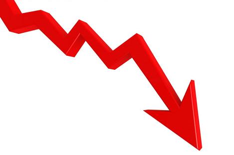 Down Trend Arrow
