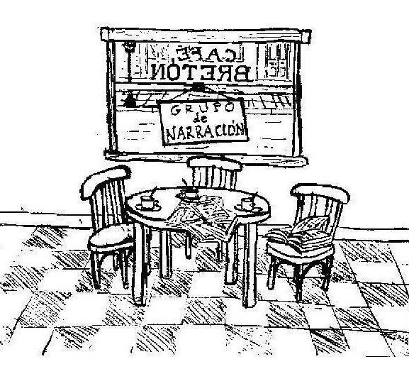 """Logo de """"caféBretón"""""""