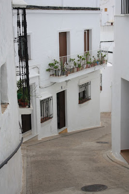 White buildings in Vejer de la Frontera in Cádiz