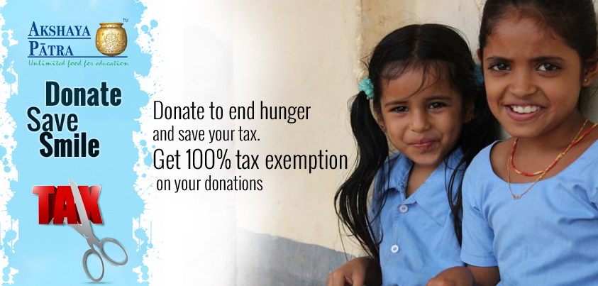 Feed Children Today - SAVE TAX