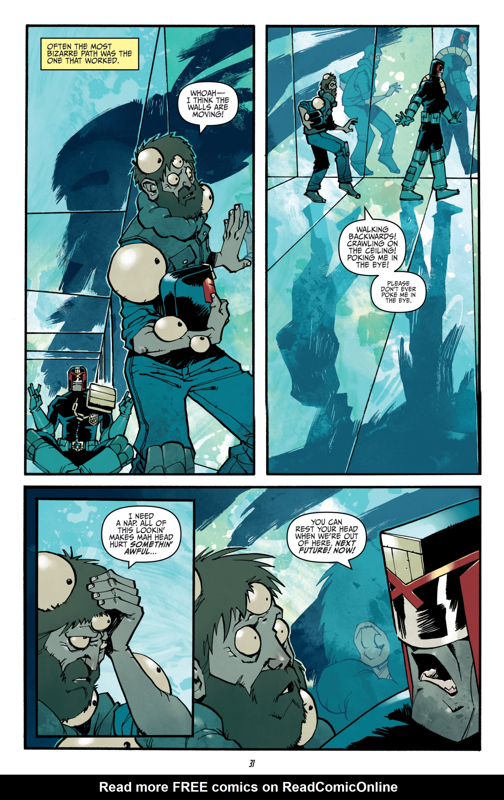 Read online Judge Dredd (2012) comic -  Issue # _TPB 3 - 31