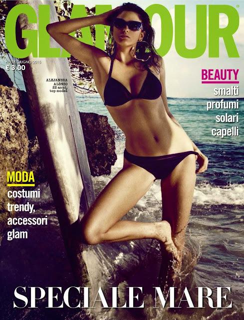 Fashion Model @ Alejandra Alonso - Glamour Italy, June 2015