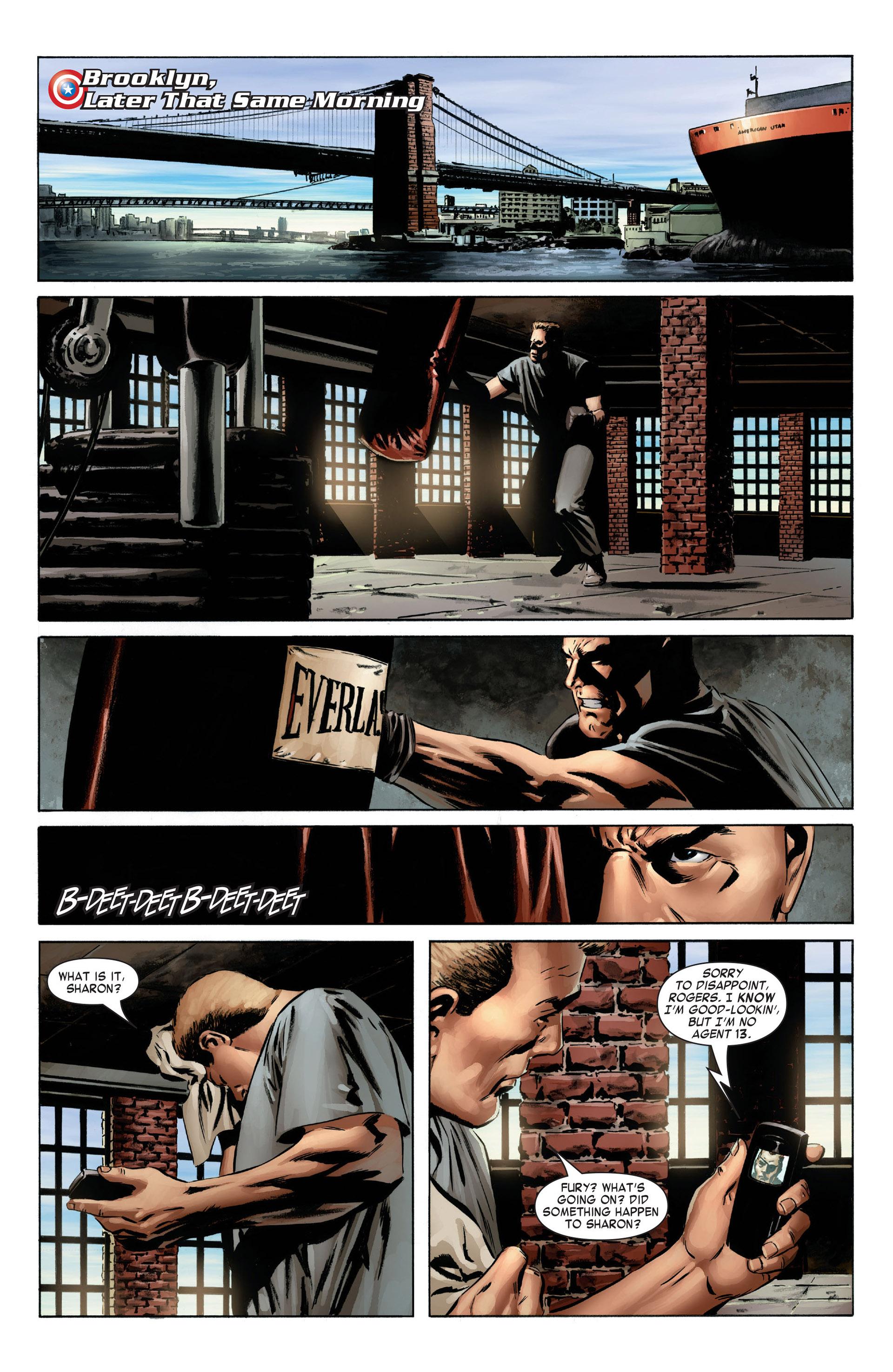 Captain America (2005) Issue #4 #4 - English 3