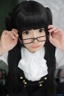Nana Cosplay as Ririchiyo Shirakiin from Inu x Boku SS