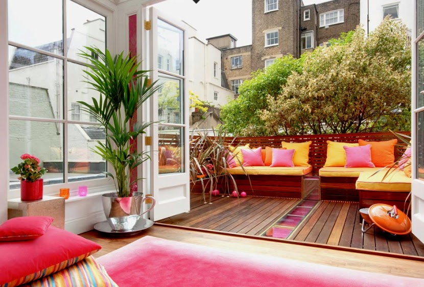 Terrazas II: Trucos para decorar tu pequeña terraza | La Maison 17 ...