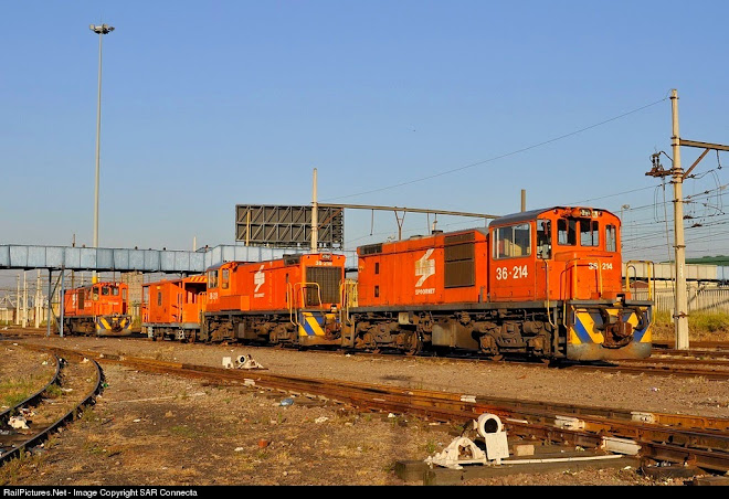 "36-214 / 36-218 / Shunter Wagon ""Natalspruit"" / 36-240"