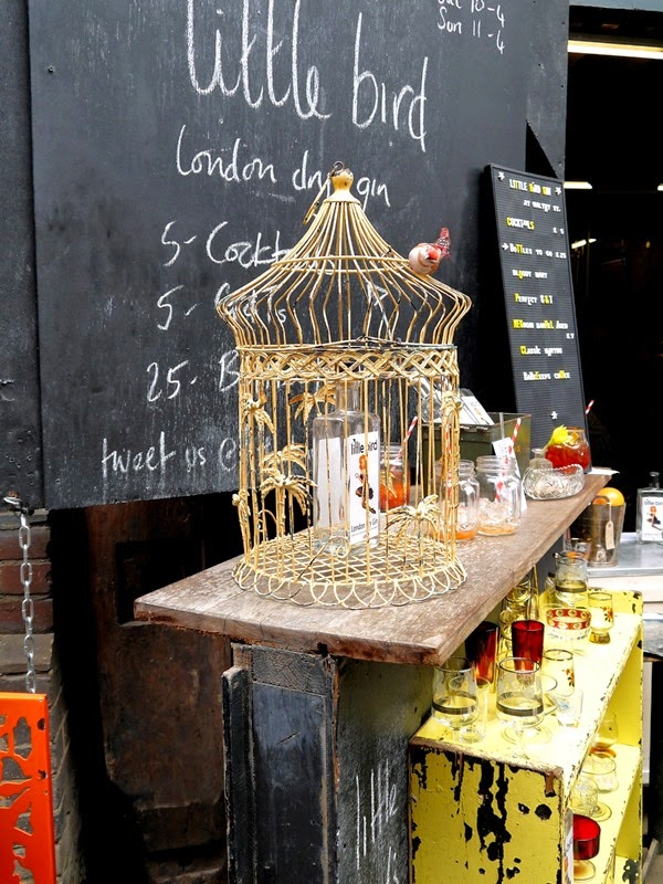 Little Bird Gin at Maltby Street Market, London
