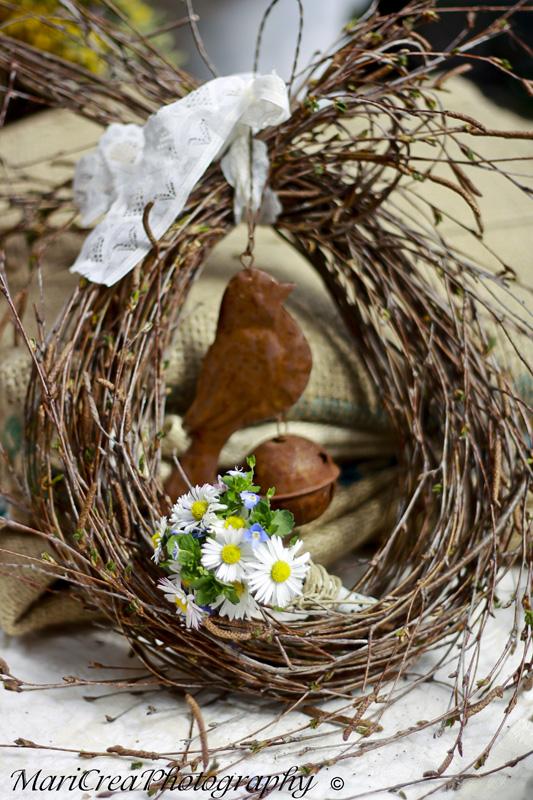 Creamaricrea decorazioni di pasqua a casa mia - Decorazioni per pasqua ...