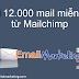 Hướng dẫn gửi mail miễn phí của Mailchimp và Benchmark