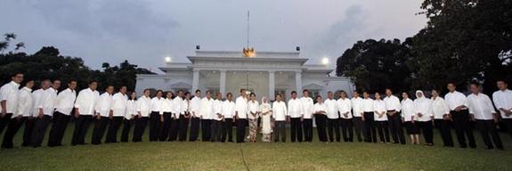 Daftar Paling Terlengkap Susunan Kabinet Kerja Jokowi JK