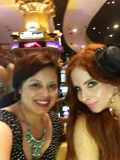 Actress Phoebe Price and editor-in-chief Lesley Garcia