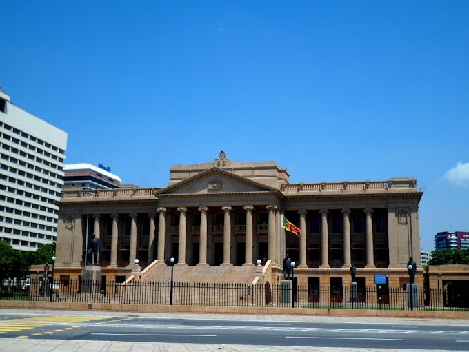 Old Parliament Building Photos, Colombo Srilanka