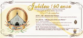 Programação pelos 160 anos da Paróquia de Santo Antônio contará com missas, carreata e apresentação da Orquestra Sinfônica da PMERJ