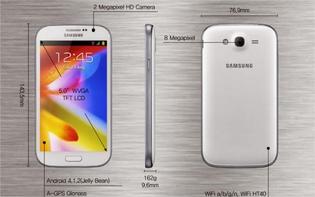 Spesifikasi dan Harga Samsung Galaxy Grand Terbaru