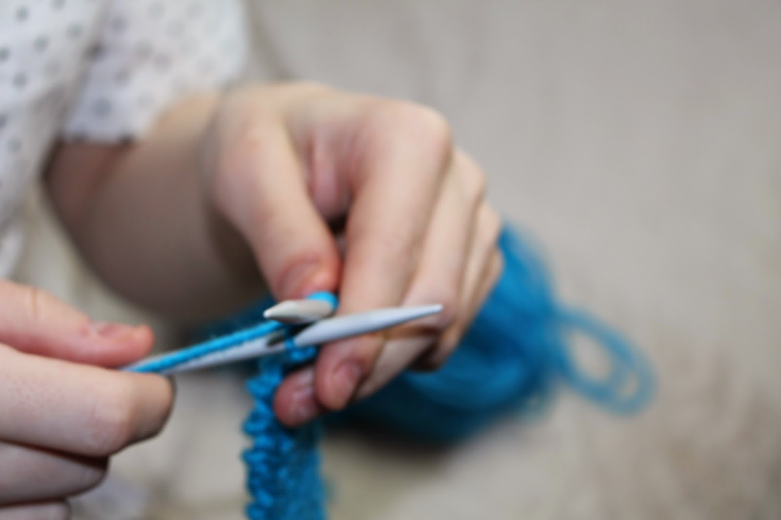 knitting shoutjohn blue