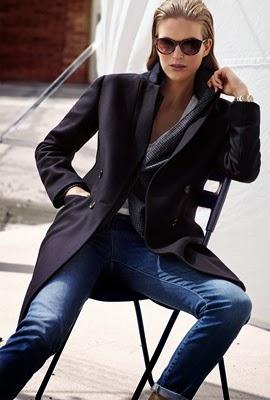 Massimo Dutti abrigo mujer lookbook otoño invierno