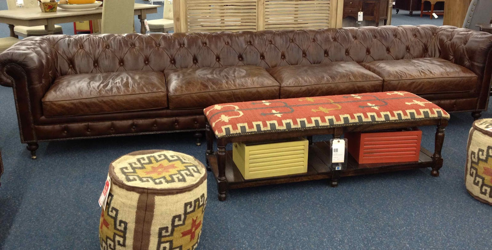Leather Couch Restoration New Home Emporium Furniture Finds Driven By Decor